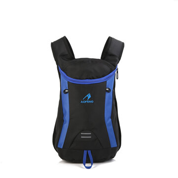 15L Nylon Outdoor Cycling Bag Backpack Waterproof Wear Resistant Scratch Proof Camping Hiking Travelling Climbing For Men Women