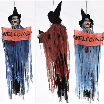 Halloween Party Event Ghost Hanging Prop Decorations Scary Haunted House Bar Part