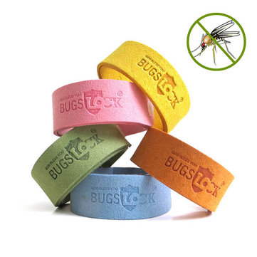 Natural Mosquito Repellent Bracelets Adjustable Kids Adult Insect Bug Repellent Bands Pest Control
