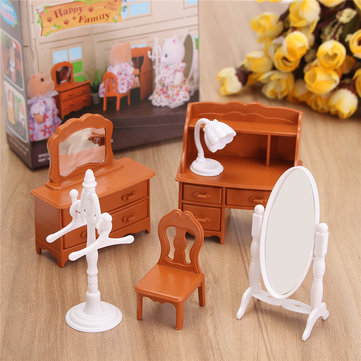1:12 Simulation Dresser Set Play House Props Dollhouse Creative DIY Material