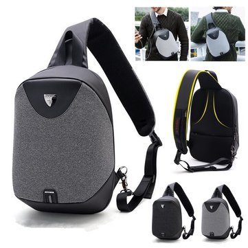 8L Men Women Anti Theft Sling Chest Bag Pack Outdoor Sport Travel Tablet Shoulder Handbag
