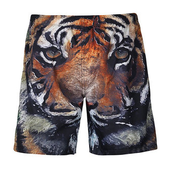 Creative 3D Animal Printing Casual Sport Beach Board Shorts