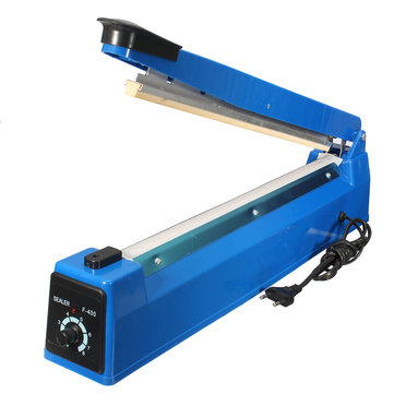 400mm Hand Impulse Sealer Heat Seal Machine Poly Plastic Bag Film Sealer