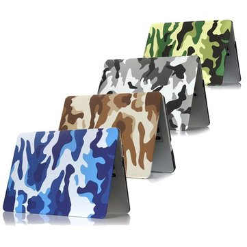 Camouflage Patroon PC Laptop Hard Case Cover Beschermende Shell Voor Apple Macbook Retina 15.4 Inch