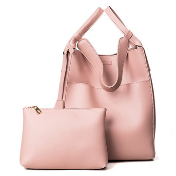 Vrouwen PU Leather Composite Handtas High End Tote Bag Emmer Bag