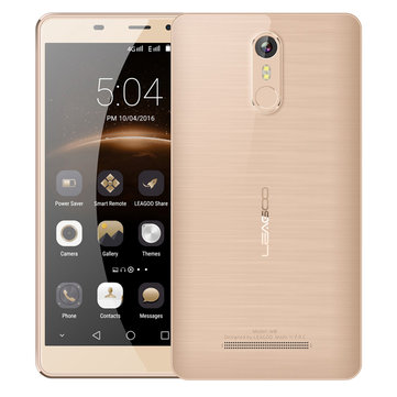 Leagoo M8 5.7'' Corning Gorilla Glass 4 Fingerprint 2GB RAM 16GB ROM MT6580A Quad-Core 3G Smartphone