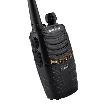 BAOFENG BF-T1MI 16 Channels 400-470MHz Mini Ultralight Hotel Civilian Handheld Radio Walkie Talkie