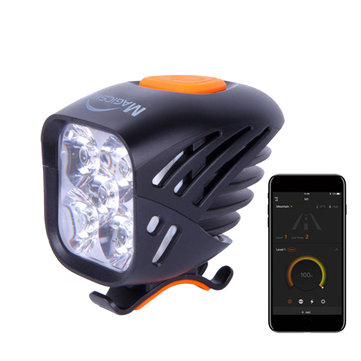Magicshine MJ 906B 3200 Lumens Mini Bluetooth Bicycle Front Light USB Rechargeable Bike Headlight