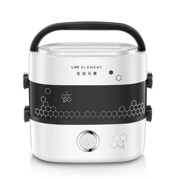 LIFE ELEMENT F1517/F3 Heating Insulation Electric Lunch Box 250W Cooking Electric Lunch Box Insulation Box