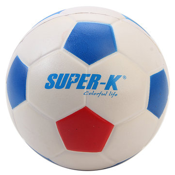 SUPER-K Foam Football High Elastic Kids Early Learning Football Toy