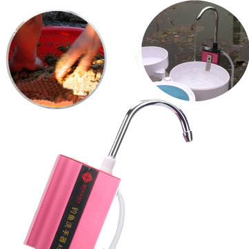 ZANLURE Fully Automatic Rechargeable Fishing Water Absorber Outdoor Fishing Hand Washer Water Intake Device