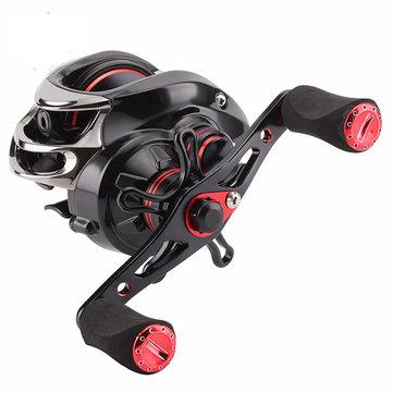 SeaKnight VIPER1200 VIPER1200HG 6.3:1 7.0:1 Baitcasting Fishing Reel 7.5KG Drag 12BB 210g Wheel