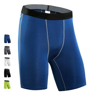 Uomo PRO Pantaloncini sportivi stretti Idoneità Corti pantaloncini stretti traspiranti in rapido asciutto