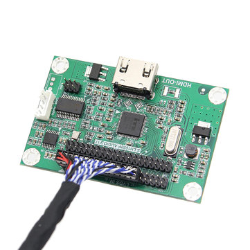 Geekworm LVDS To HDMI Adapter Board Support 1080P Resolution For Raspberry Pi