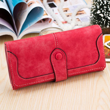 Fashion High Quality PU Leather Women Long Wallet Handbag Card Holder Coin Purse