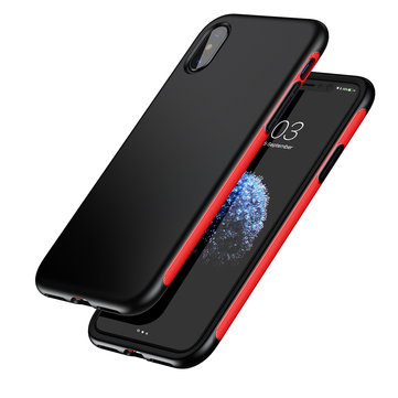 Baseus Bumper Shockproof Soft TPU TPE Case Cover for iPhone X