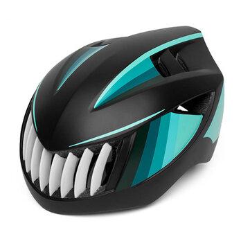 PROMEND 12H16 Cycling Shark Bike Helmets Mountain Bike Safety Hats Ultralight Breathable Vibration Helmet