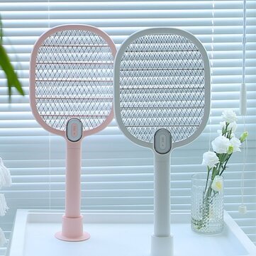 3life Electric Mosquito Swatter Mosquito Dispeller Akumulator LED Electric Owad Fly Mosquito Bug Killer Rack 3-Layer