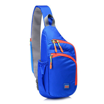 Unisex Men Women Waterproof Nylon Chest Bag Outdoor Bag