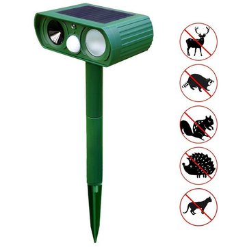 New Solar Powered Ultrasonic Sonic Mouse Mole Pest Rodent Repeller Repellent Control for Garden Yard