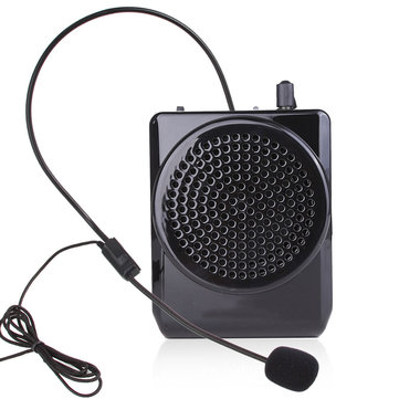 N74 Portable Voice Amplifier Teaching Guiding Speaker Headset Microphone Audio
