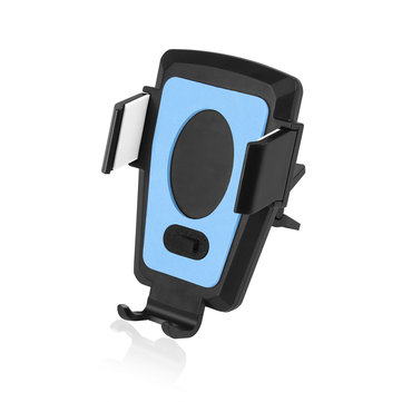 360 Degree Rotation Air Vent Automatic Electric Charger Car Phone Holder ABS Stand Mount for Iphone