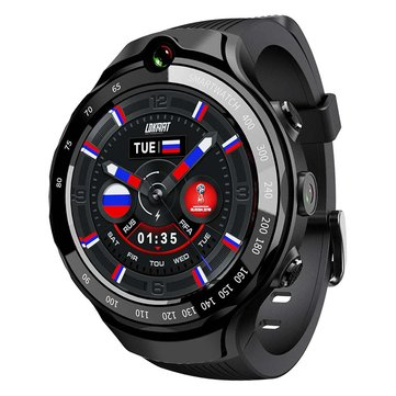 LOKMAT LOK 02 4G LTE 1+16G Dual HD Camera Dual GPS Positioning Smart Watch Phone 1.39'' AMOLED Screen Optical Heart Rate Monitor Multiple Sports Modes Fitness Smart Bracelet