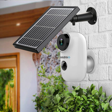 $69.99 for Battery-Powered Camera + Solar Panel