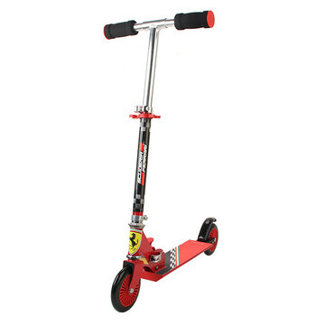 Ferrari FXK30 Two Wheel Scooter Kids Adjustable Anti-slip Aluminum T-tube PVC Wheel Scooter