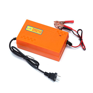 Automotive 6A 12V Battery Charger Smart Car Battery Charger Pulse with Intelligent Repair