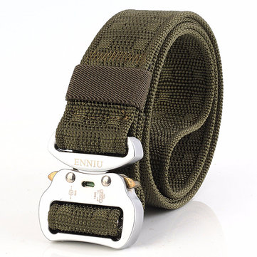125CM Mens Nylon Tactical Adjustable Combat Belt