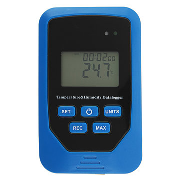 TL-505 Large Size LCD Digital Thermometer Hygrometer Temperature Humidity Datalogger Record 80000 Datas