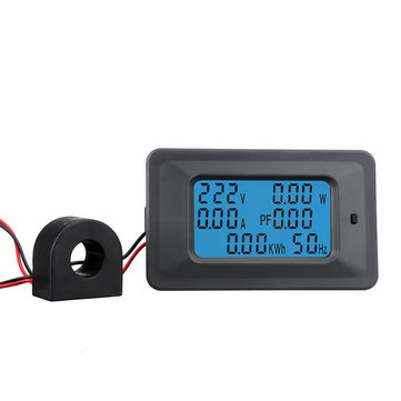 100A Digital LED Panel Power Monitor Power Energy Voltmeter Ammeter Meter Tester