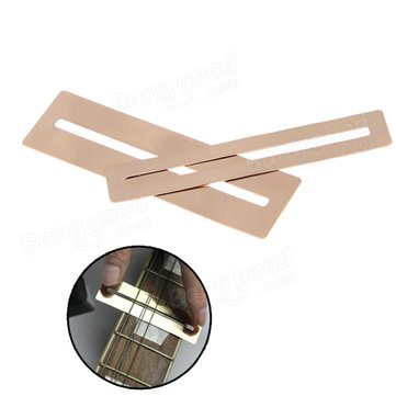 2pcs Bendable Stainless Steel Fretboard Protector for Guitar