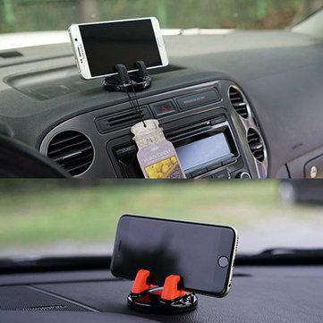 Bakeey Güçlü Sabit 360 Derece Rotasyon Masaüstü Tutucu Standı Xiaomi Cep Telefonu için Araba Montaj