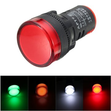 DC 12V Motorcycle Turn LED Lamp Indicator Signal Light Universal Red Yellow Green White
