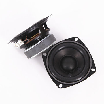 2Pcs 3 Inch Full Range Speaker Unit 4 Ohm 22W Home Bookshelf Speaker DIY Portable Loudspeaker Tweeter