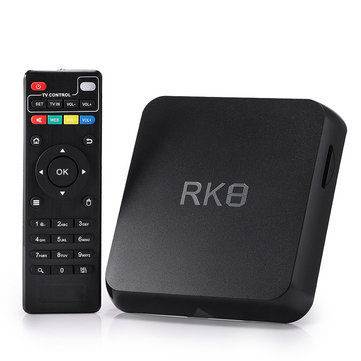 RK8 Android 5.1 RK3368 Octa Core 2GB/8GB 2.4GHz/5.8GHz WiFi 1000M BT 4.0 HD TV Box Android Mini PC