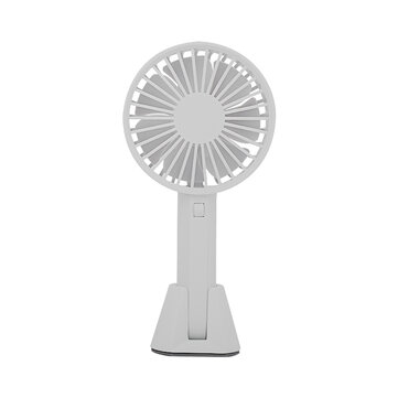 US$9.99 50% Xiaomi VH 2 In 1 Portable Handheld Mini USB Desk Small Fan 3 Cooling Wind Speed Outdoor Travel Travel Supplies from Sports & Outdoor on banggood.com