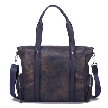 Ekphero Canvas Bag Men Causal Handbag Large Capacity Crossbody Messenger Bag