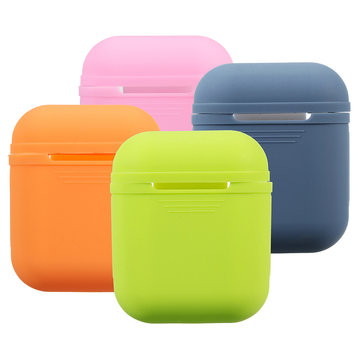 Silicone Shockproof Waterproof Protective Cover Case For iPhone AirPod For Apple