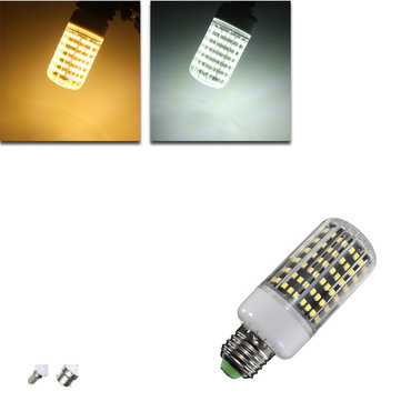 E27/B22/E14 LED Bulb 13W 1300LM 162 SMD 2835 White/Warm White Corn Light Lamp AC110V