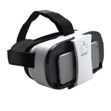 FiiT VR 2S Head Mount 3D Cardboard Virtual Reality Goggles VR Glasses Box