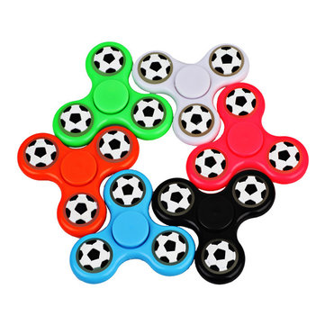 ECUBEE Hand Spinner Football Luminous Spinner Fidget Finger Focus Reduce Stress Gadget