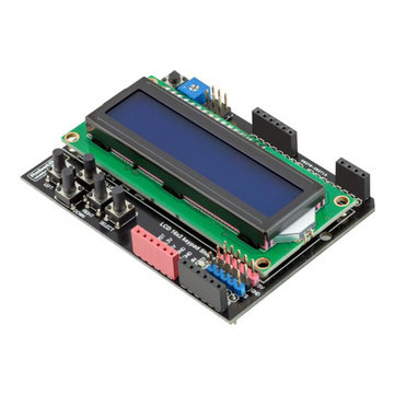 RobotDyn® 5V LCD Keypad Shield LCD1602 1602 Display Module