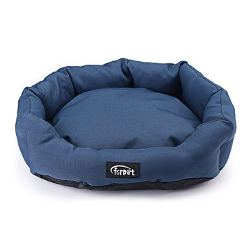 17'' Pet Dog Cat Bed Waterproof Washable Hardwearing Basket Pad Mat Cushion Pet Bed