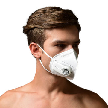 XIAOMI Purely HZSN002 Micro Ventilation System Face Mask Breathable Three-Dimensional Circulation Mask