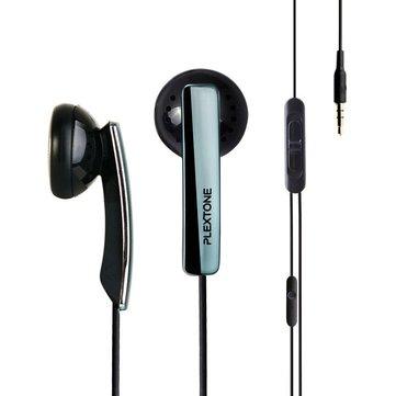 Original Plextone X45M Super Bass In-Ear Earphone With Mic For iPhone Samsung