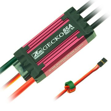 ZTW Gecko 85A Brushless ESC With 8A SBEC