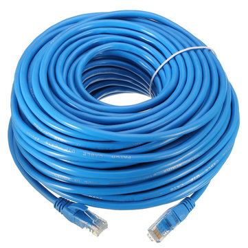 30M RJ45 CAT6 1000Mbps Fast Transmission Ethernet LAN Network Cable